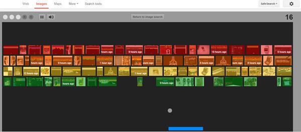 Easter Egg Play Atari Breakout game into Google Image