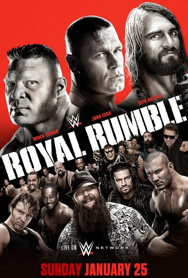 WWE Royal Rumble 2015 Results