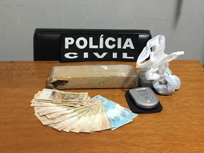 Polícia Civil prende traficante de drogas que agia na Cidade de Eldorado