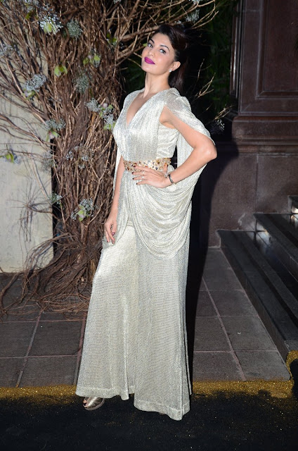 jacqueline fernandez stills at Manish Malhotra Birthday Party