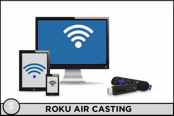 Roku Air Casting
