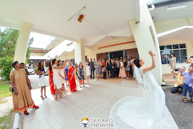 Wedding Photography in Penang Trinity Methodist Church