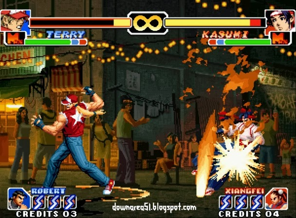 Terry KOF 99 Super Move