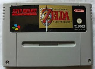 The Legend Of Zelda - A Link To The Past - Cartucho delante
