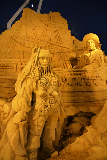 Sandwonderland Blankenberge Pirates of the Caribbean