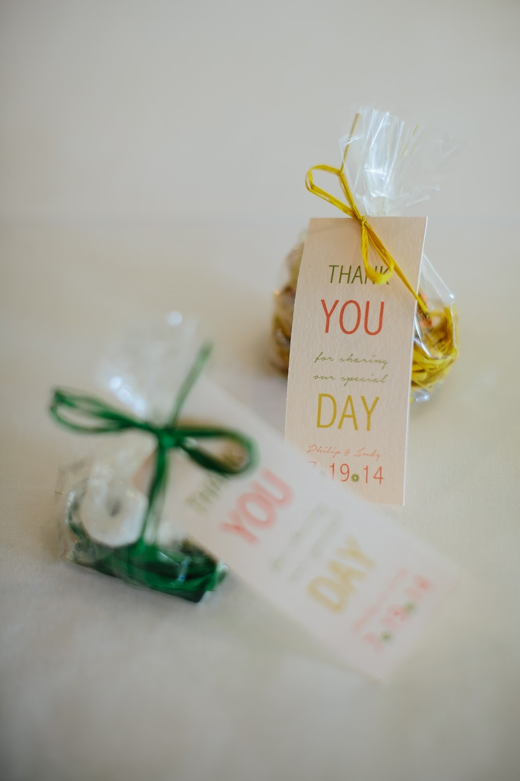 Twins In The Cities Personalize Your Wedding Guest Favors
