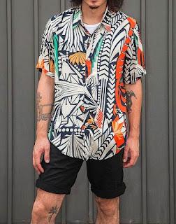 Model Batik Modern Minimalisme pria