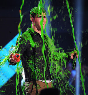 Hotties Getting Slimed At Kids Choice Awards