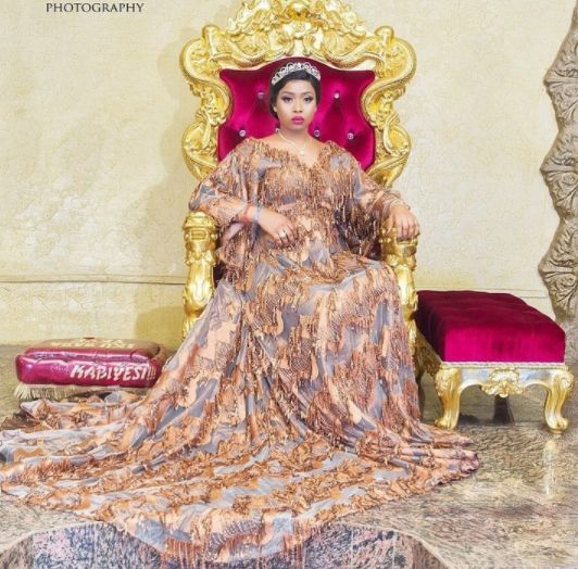 Alaafin of Oyo's Youngest Wife Celebrates 28th Birthday With Beautiful Pics