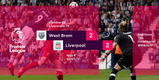 West Bromwich Albion vs Liverpool 2-2 Video Gol & Highlights