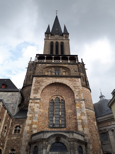 Aachen cathedral aka Dom entrance