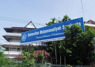 Universitas Swasta Terbaik Di Indonesia 2016 versi DIKTI - universitas muhammadiyah surakarta