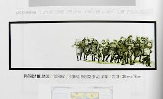 Corren, grabado seleccionado para la 2nd Penang International Printmaking Exhibition (PIPE'10)