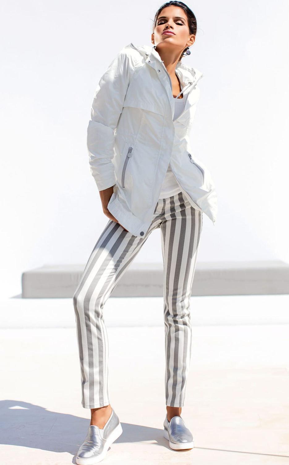 Madeleine Striped Pants