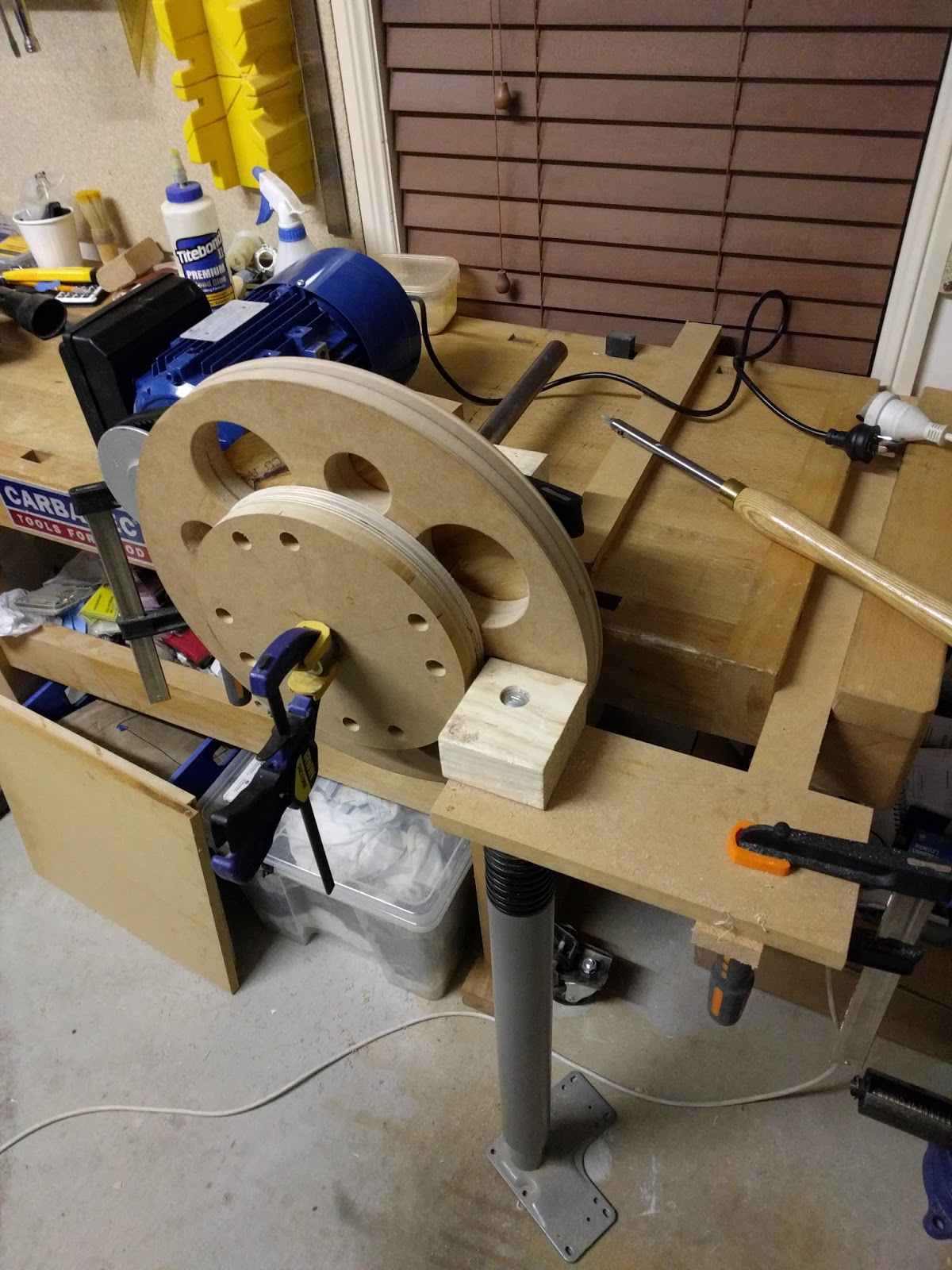 Incomplete attention span: Home Made Bandsaw