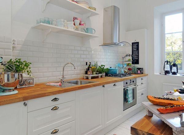 Wszystko O Drewnianych Blatach W Kuchni Blog Wnętrzarski
