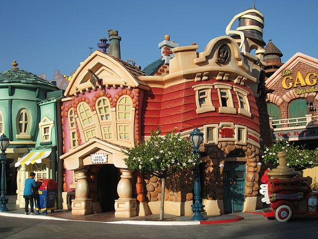 Mickey's Toontown of Disneyland