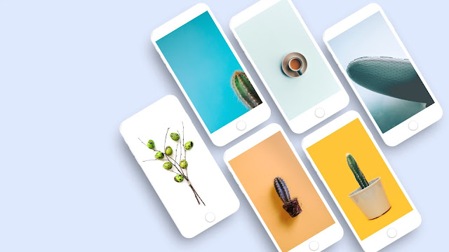 Free iPhone Screen Mockup PowerPoint Template
