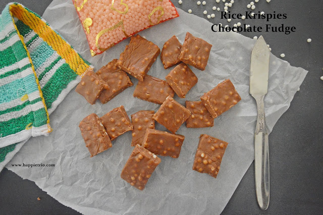 Rice Krispies Fudge Recipe | Rice Krispies Chocolate Fudge