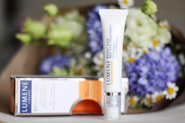 lumene Bright Now 360° Eye Treatment, крем для глаз lumene отзывы, люмене крем для глаз с витамином с, лимине крем для глаз отзывы
