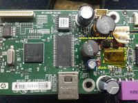 Langkah-langkah Mengatasi Printer HP K209z Mati total (Matot)