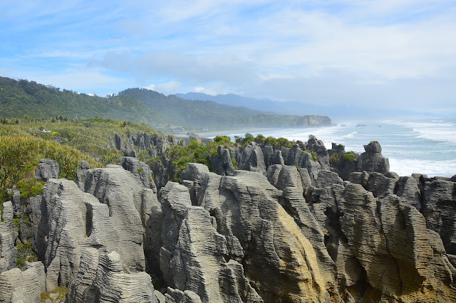 Dia 8: Pancake Rocks i Cape Foulwind