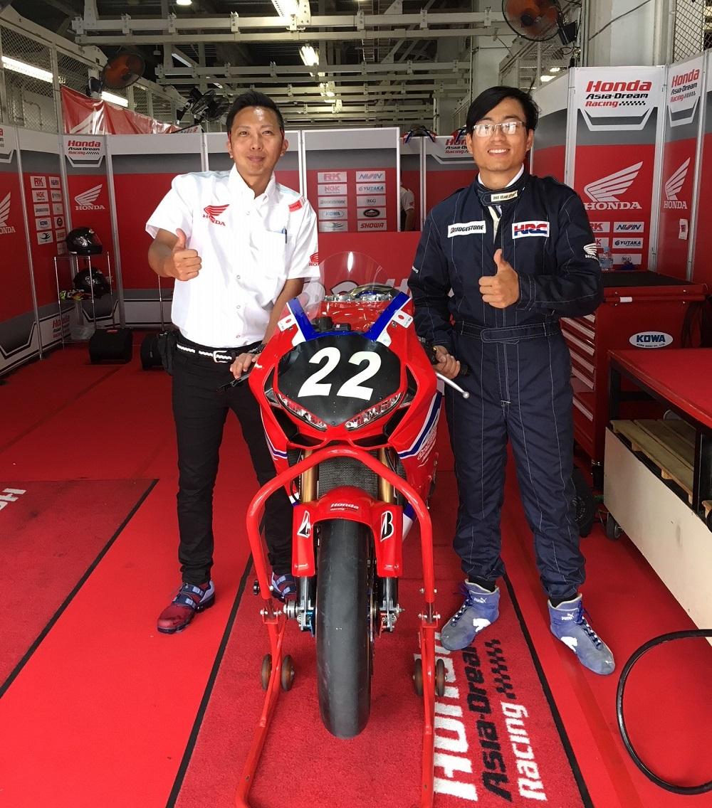 Cử kĩ thuật viên tham dự vòng đua Suzuka 8 Hours Endurance