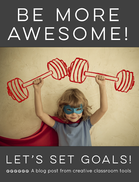 "With inspiration from Kid President, students set goals to ""Be More Awesome!"" Read on to learn ideas for implementation and grab a free printable activity! Put completed student pennants together to create a classroom banner. Perfect décor all year long!"