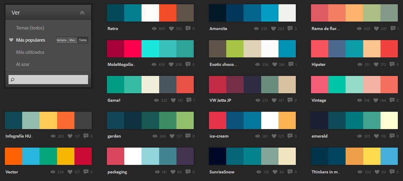 Paleta de colores en GeneXus
