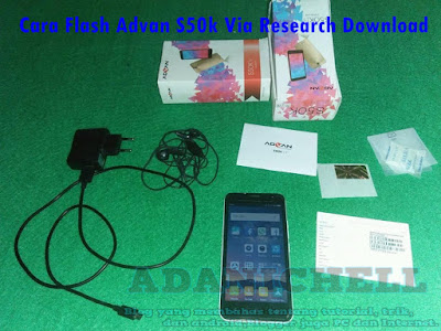 Cara Flash Advan S50k Via Research Download