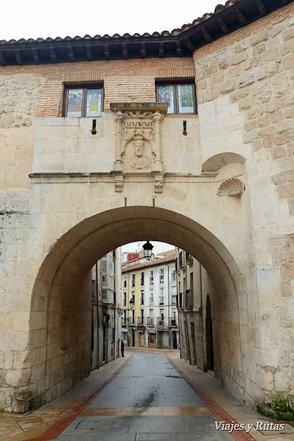 Arco san Gil, Burgos