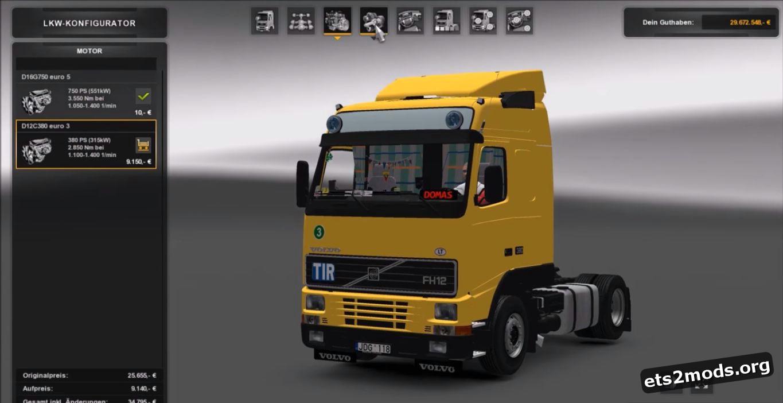 Truck - Volvo FH12 380 [Update]