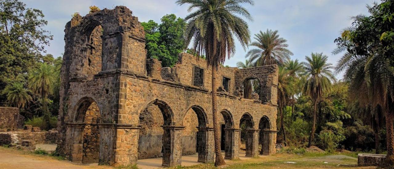 वसईचा किल्ला - Vasai Fort-Fort Bassein