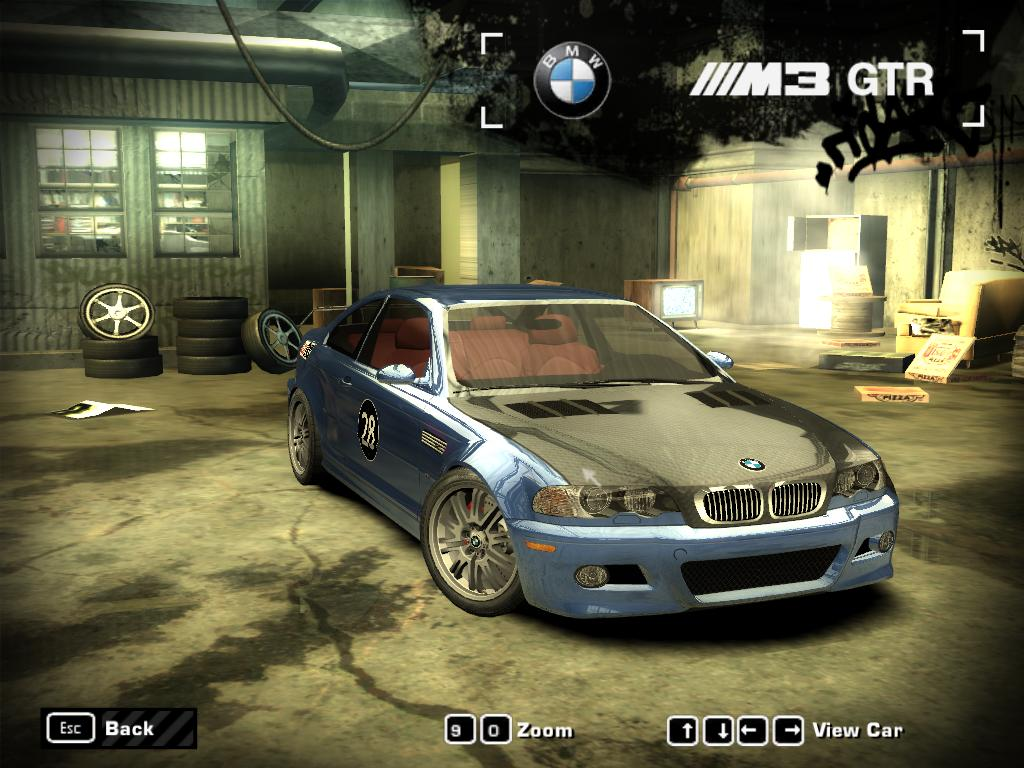 Nfs Most Wanted Bmw M3 Gtr Turbo Mod Heritage Malta