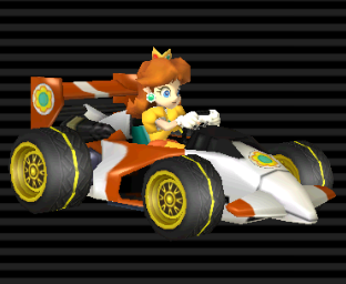 Princesse Daisy Gallerie D Images Mario Kart Wii 2008
