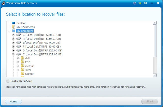 How to recover data from USB Flash Drive with Wondershare Data Recovery