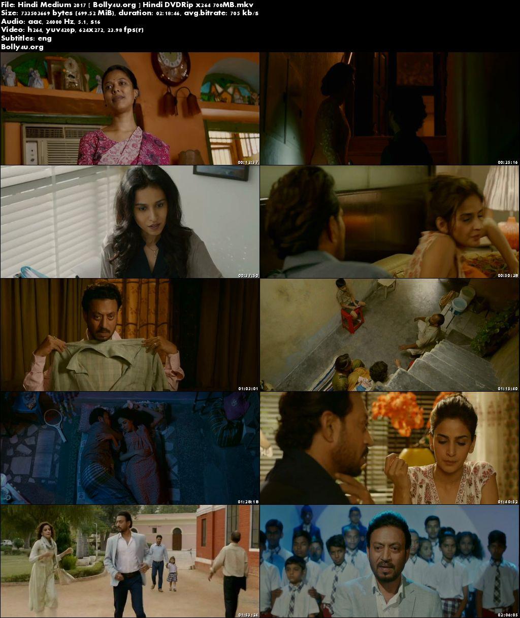 Hindi Medium 2017 DVDRip 400MB Full Hindi Movie Download 480p