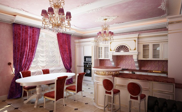 Tirai ialah unsur keindahan dalam sebuah ruangan Model Tirai Indah untuk Dapur
