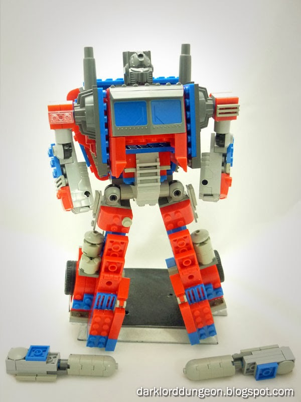 Dark Lord Dungeon Optimus Prime Lego Ko