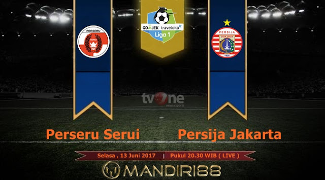 Prediksi Bola : Perseru Serui Vs Persija Jakarta , Selasa 13 Juni 2017 Pukul 20.30 WIB @ TVONE