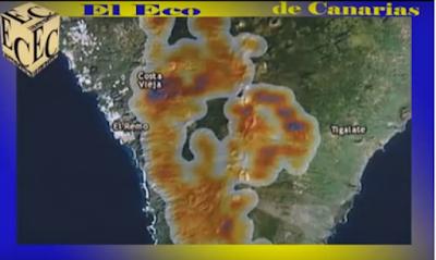 El perímetro del incendio de La Palma, estabilizado en todos sus frentes