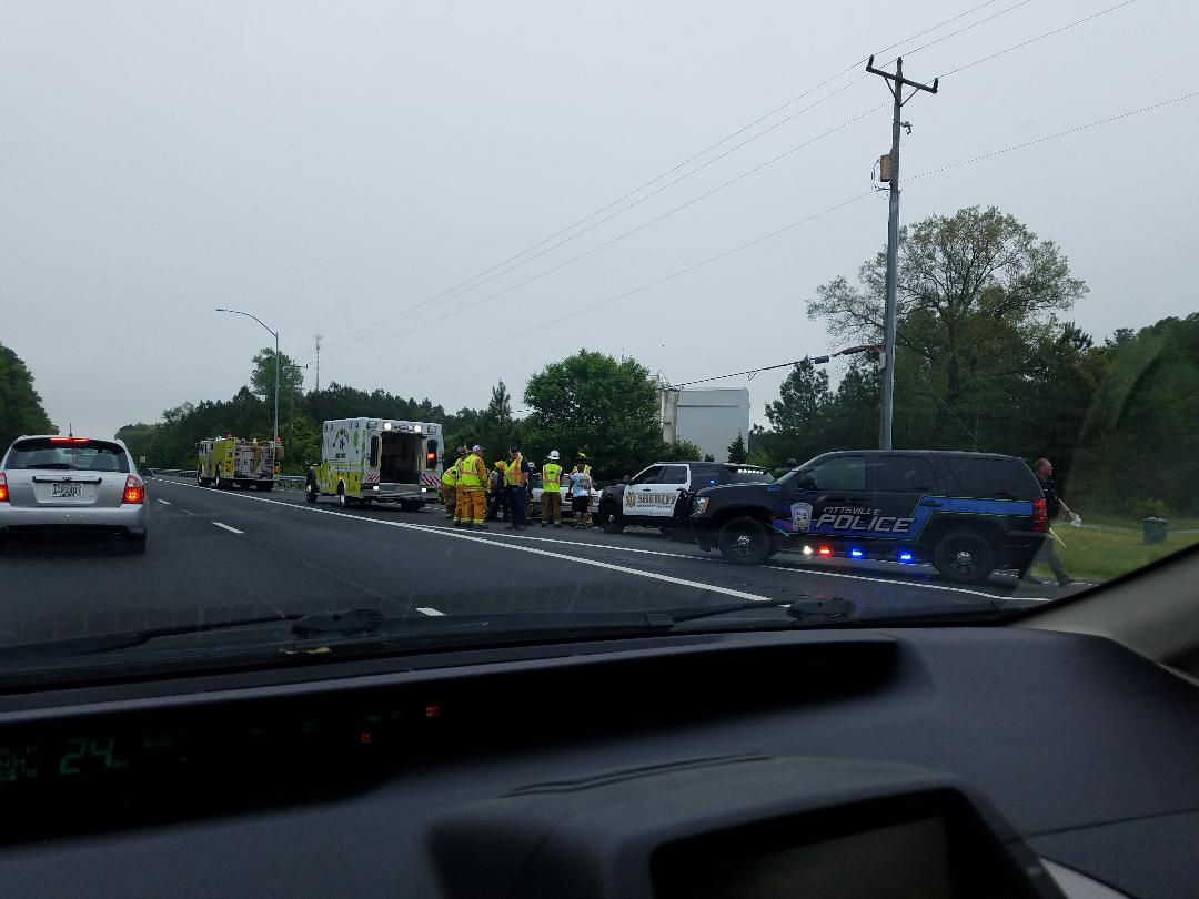 Salisbury News: Accident Sixty Foot Road & Rt  50 In