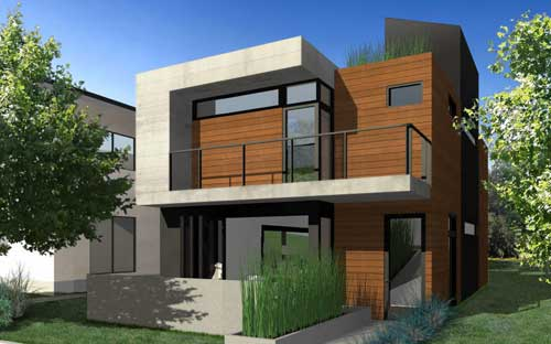 New Modern House Designs