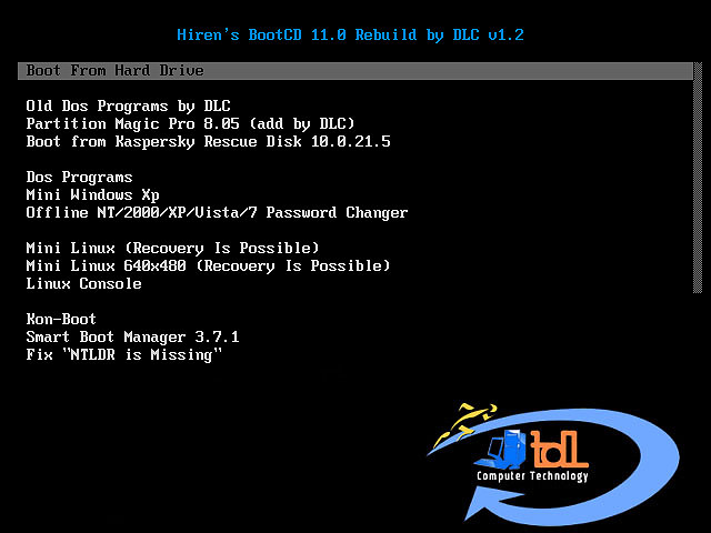Try These Hirens Boot Usb Password Reset Windows 7 Free
