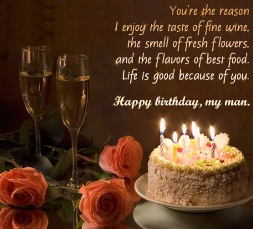 Romantic and Happy Birthday Wishes for Husband – Happy Birthday Greeting for Husband