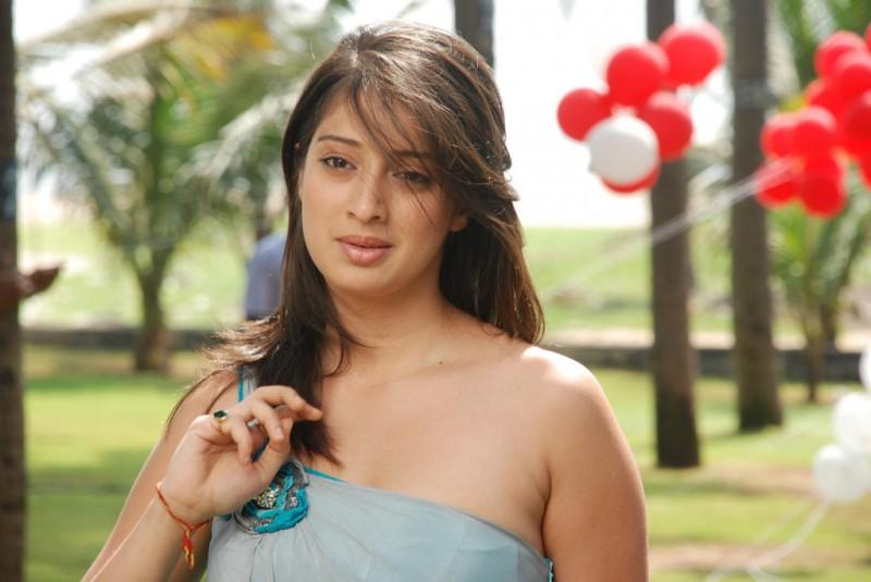 Telugu Actress Jyothi In Blue Salwar: Actress Lakshmi Rai Kanchana Tamil Telugu Movie Unseen