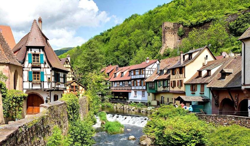 Kaysersberg, Alsacia, França