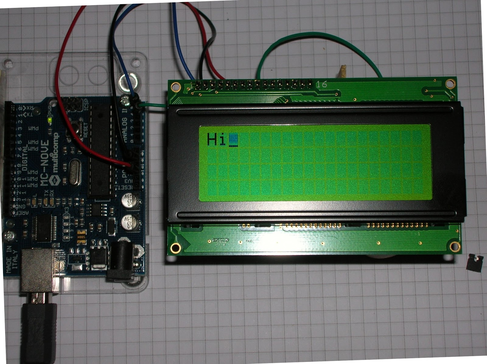 Rareblog Arduino Drives 4 Row I2c Lcd From Robot Electronics Electrical Installation Wiring Pictures November 2011