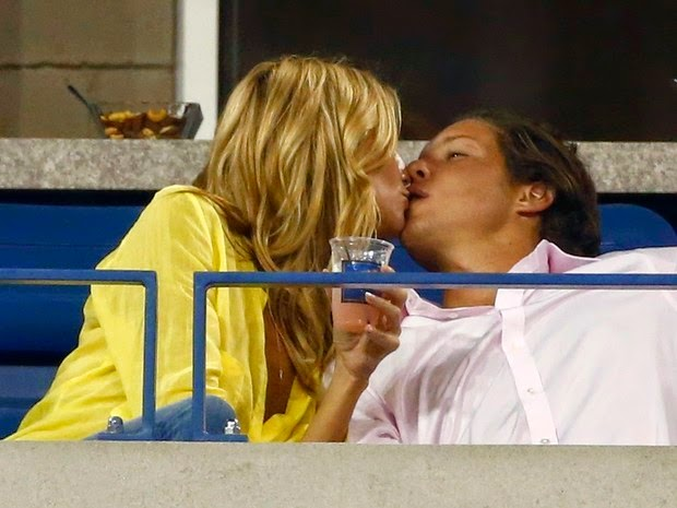 Heidi Klum and her boyfriend, Vito Schnabel