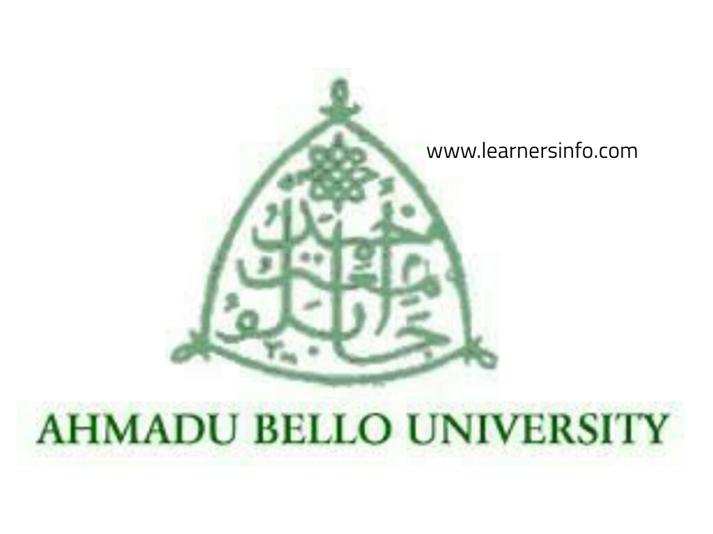 FULL LIST OF COURSES OFFERED IN ABU UNIVERSITY
